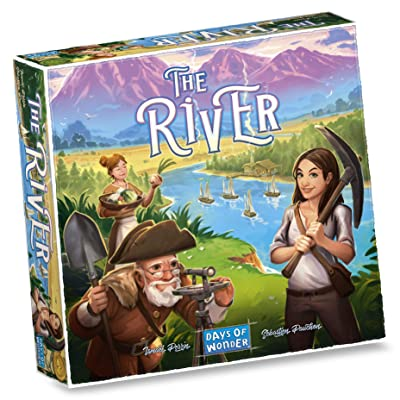 Days of Wonder DO8701 The River Games, Multicolor: Toys & Games