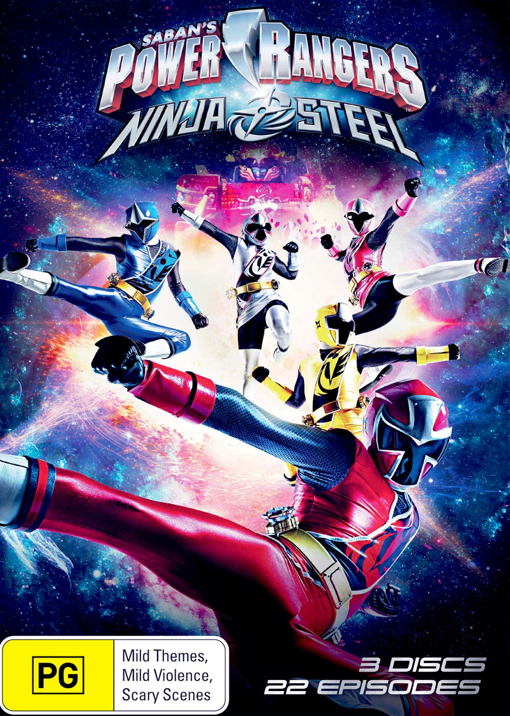 Amazon.com: Power Rangers: Ninja Steel | NON-USA Format ...