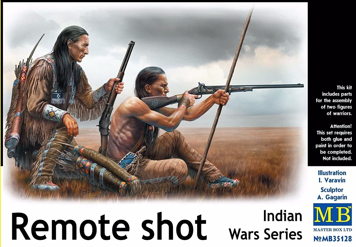 Master Box Indian Wars Series Scale Plastic Model Kit 1//35 Scale Miniatures