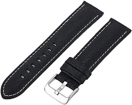 Calfskin watchband replacement dive watches for men