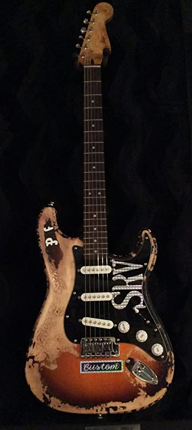 SRV Stevie Ray Vaughan Number One First Wife Stage Tribute Guitar