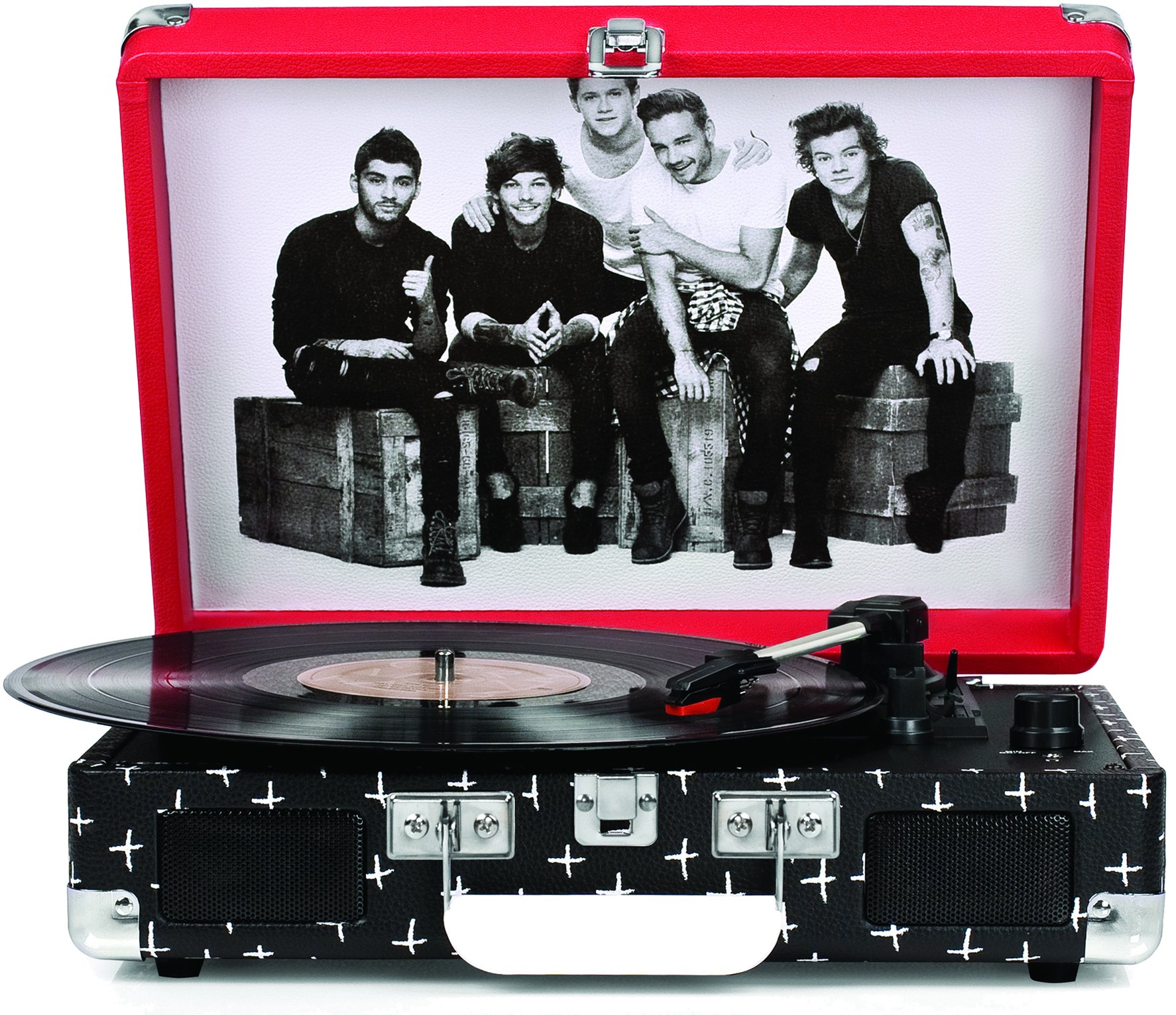 Crosley CR8005A-OD Cruiser Portable 3-Speed Turntable, One Direction