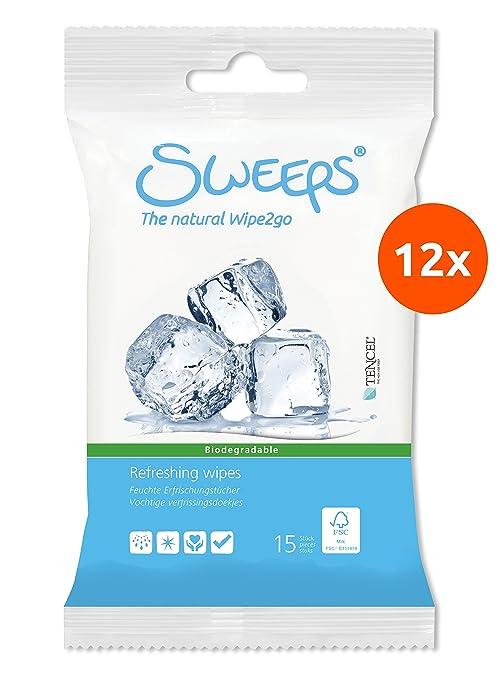 Sweeps Toallitas húmedas refrescantes - 12 x 15 (180 toallitas)