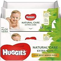 Huggies baby billendoekjes Natural Extra Care - 3 x 56 doekjes - Voordeelverpakking