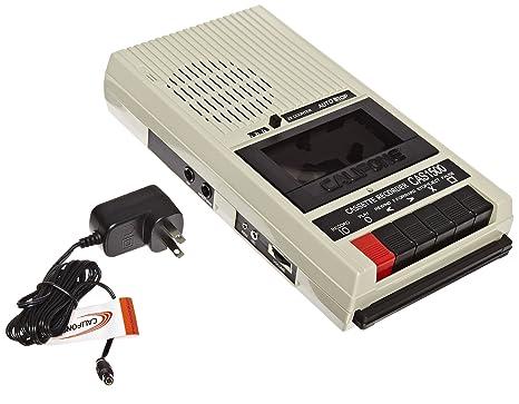 Califone Internacional CAS1500 Presupuesto Cassette Recorder-Player - Blueberry
