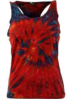 Tie Dye Goa Top rot Batik Tanktop