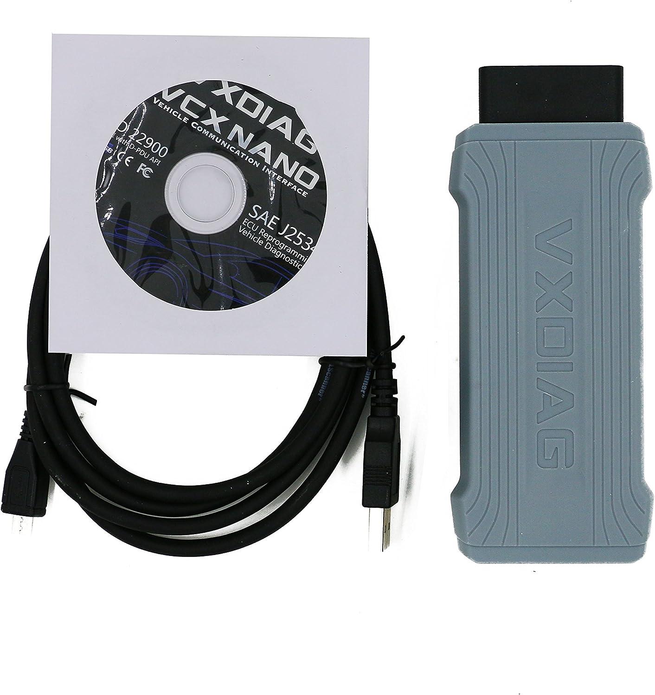 AUDI SEAT Bentley and Lamborghini Diagnostic Tool With WIFI Autool AllScanner VXDIAG VCX NANO FOR VW SKODA