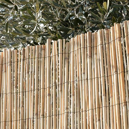 Arella - Estera de cañas de bambú para crear sombras en exteriores: Amazon.es: Jardín