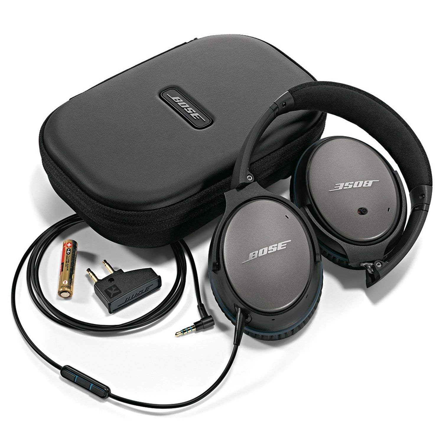 Bose Quietcomfort 25 Acoustic Noise Cancelling Electronics Jgos17 Sony Headphones Mdr Zx110 Ap Black