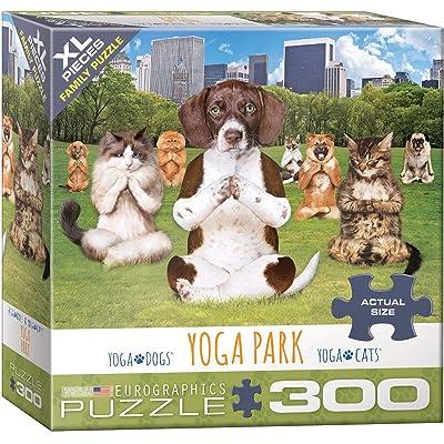 EuroGraphics 8300-5455 Yoga Park 300Piece Puzzle: Toys & Games