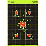 12'x18' Sight in Splatterburst Target - Instantly See Your Shots Burst Bright Florescent Yellow Upon Impact!
