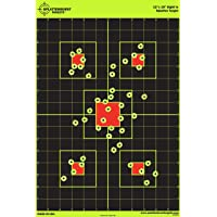 "Splatterburst Targets 12""x18"" Sight Instantly See Your Shots Burst Bright Florescent Yellow Upon Impact!"