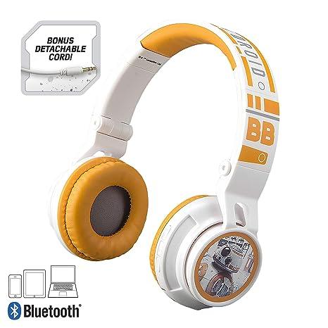 e4032b80cd6 Amazon.com: Star Wars Bluetooth Headphones for Kids Wireless Rechargeable  Kid Friendly Sound (Star Wars): Electronics