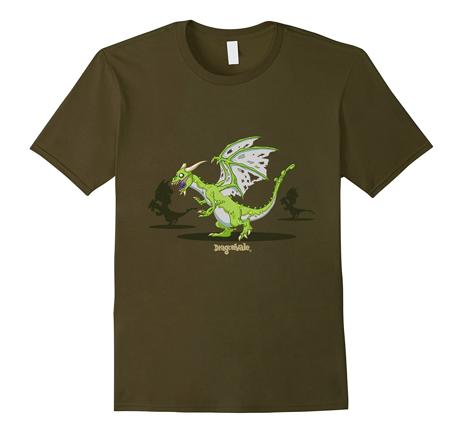 DragonVale: Zombie Dragon T-Shirt-BN