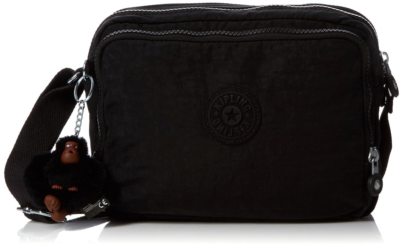 Black (True Black) Kipling Women's Silen CrossBody Bag