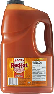 product image for Frank's RedHot Hot Sauce Buffalo Wings Sauce 3.78L/1 Gallon {Imported from Canada}