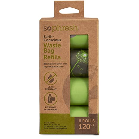 Amazon.com: So pHresh earth-conscious perro bolsas de ...