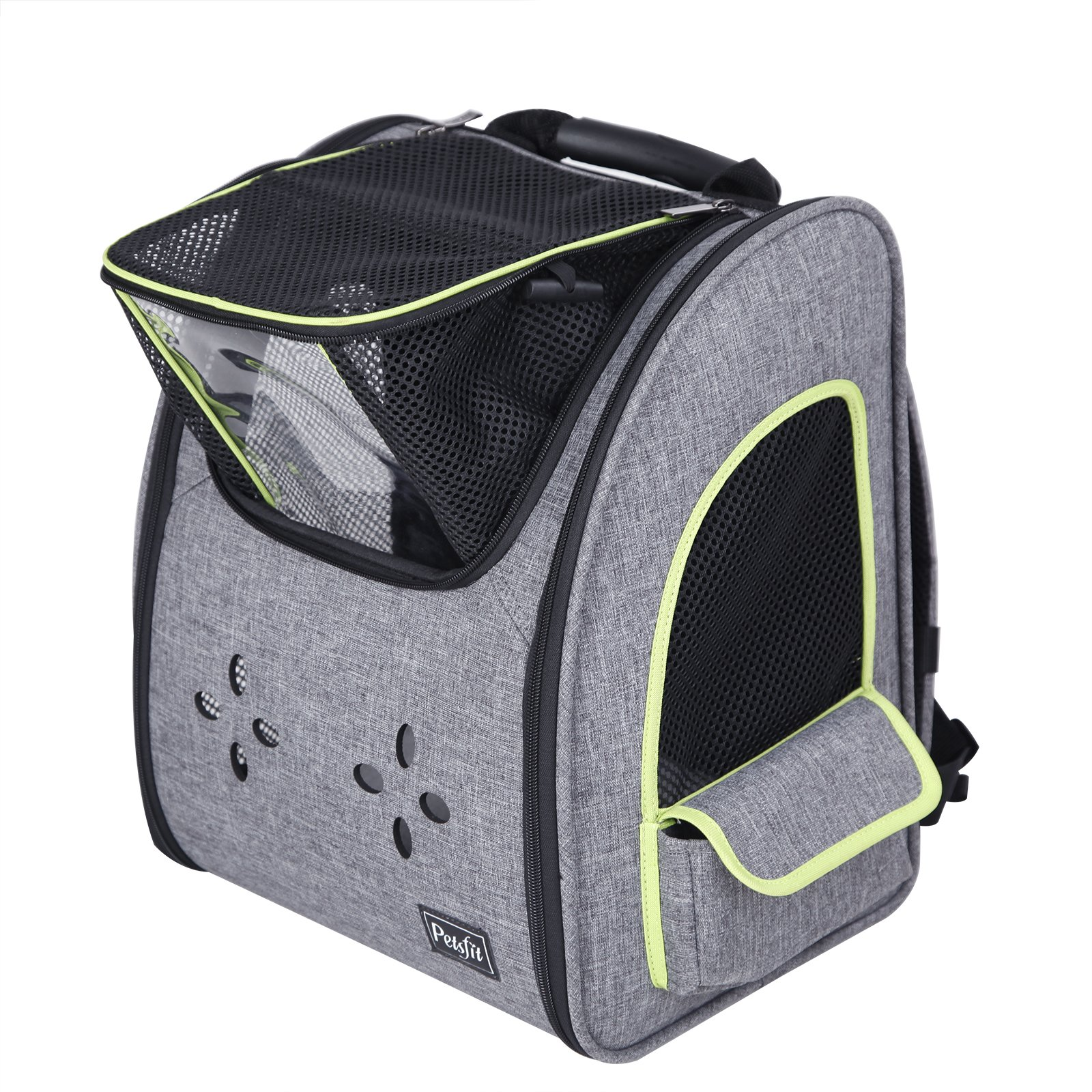 Petsfit Dogs Carriers Backpack for Cat/Dog/Guinea Pig/Bunny Durable and Comfortable Pet Bag by Petsfit