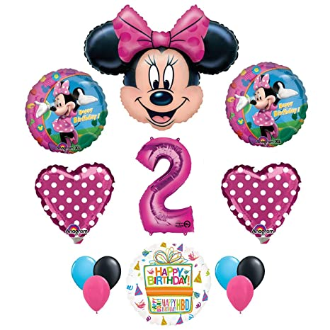 Image Unavailable Not Available For Color Minnie Mouse 2nd Birthday Party Supplies