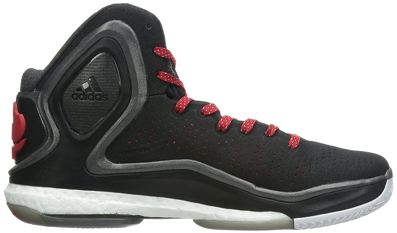 the best attitude 10bed 9083e Amazon.com  adidas D Rose 5 Boost Mens Basketball SneakersShoes-Black-19   Basketball