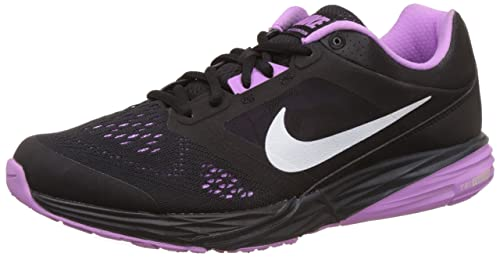 eaa190e723d Image Unavailable. Image not available for. Colour  Nike Women s Tri Fusion  Run MSL Black Fuchsia Glow Running Shoes ...