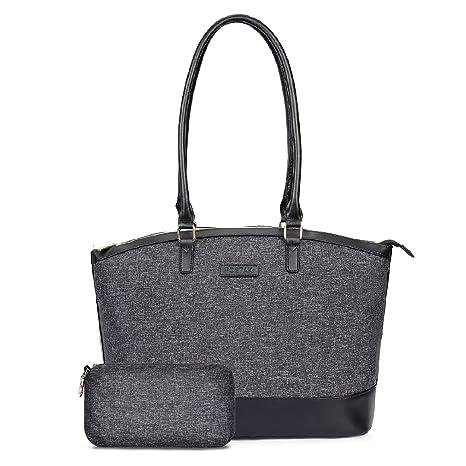 FOSTAK Bolsos totes Bolso de Hombro multifuncional Shopper portátil para mujer Bolso de viaje elegante Bolsas portátiles para negocio que trabaja ...