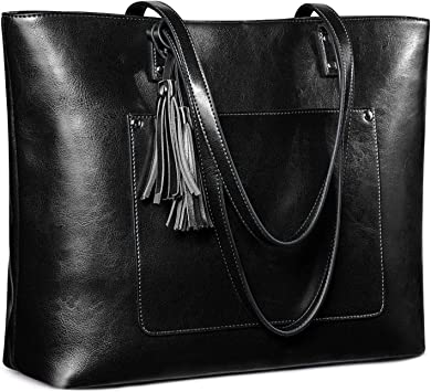 Free Shipping Four Sets of Wax Oil Leather Tassel Handbag