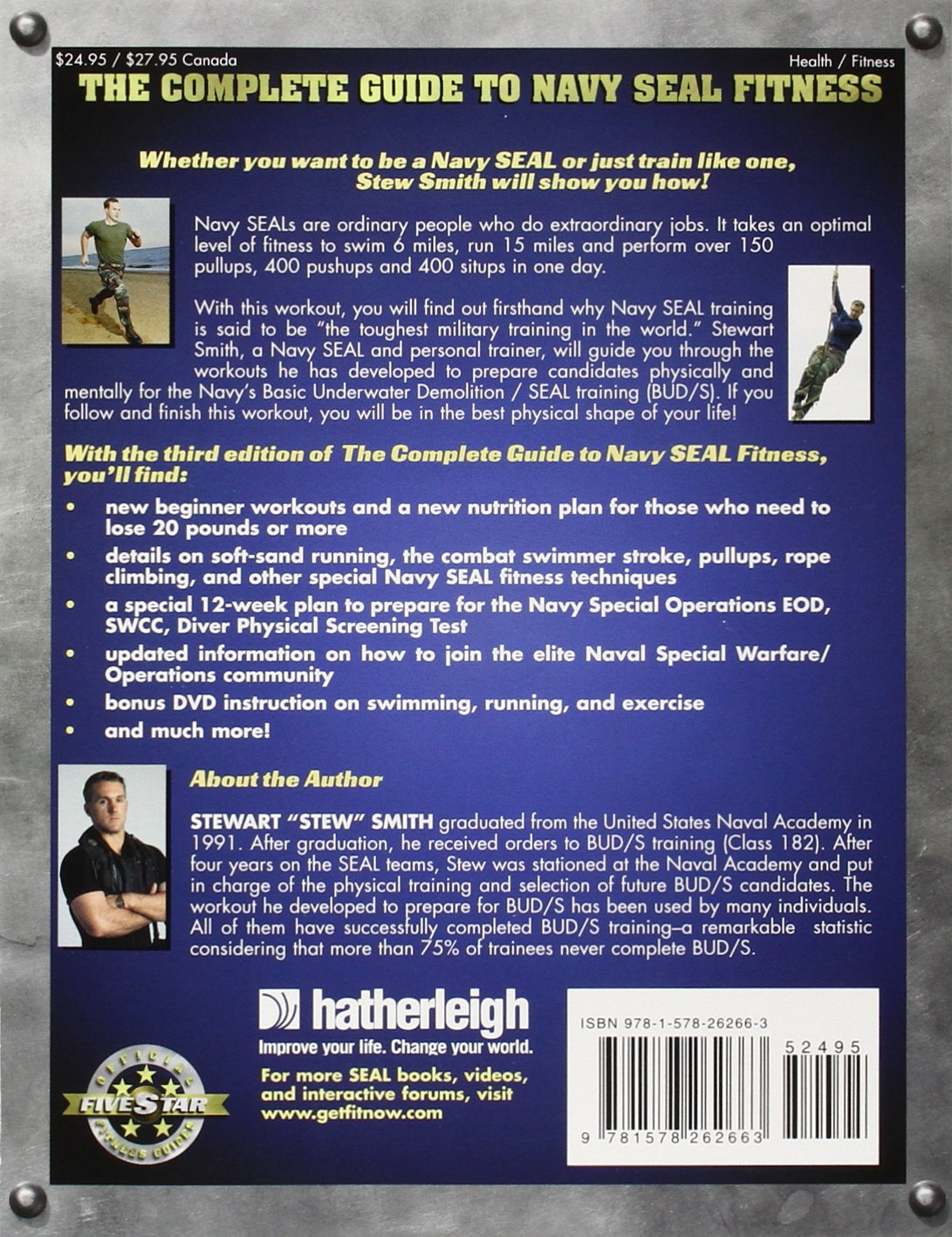 The complete guide to navy seal fitness third edition updated the complete guide to navy seal fitness third edition updated for todays warrior elite stewart smith usn seal 8580001061863 amazon books nvjuhfo Choice Image