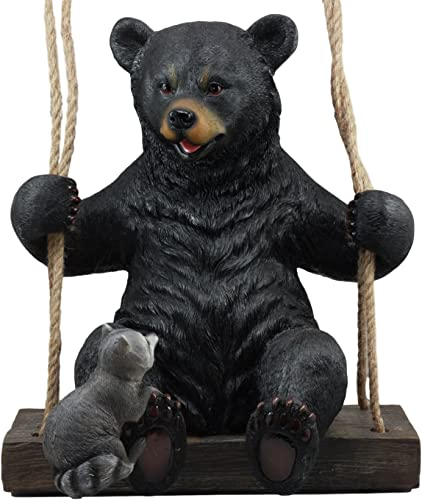 Ebros Large Swinging Black Bear