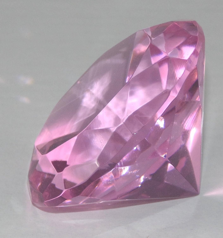 Rosa Diamant geformter Nachahmung Kristall Glas Briefbeschwerer B003IIWJK0   Schnelle Lieferung