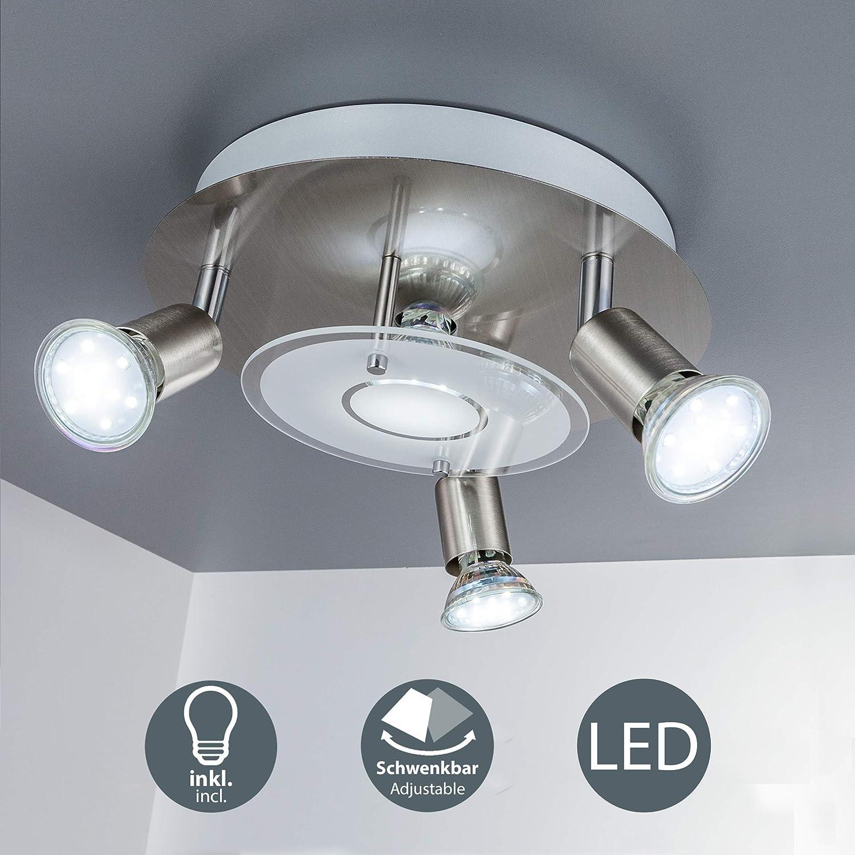 22 Watt LED Deckenbeleuchtung dimmbar Esszimmer Spotleuchte Strahler schwenkbar