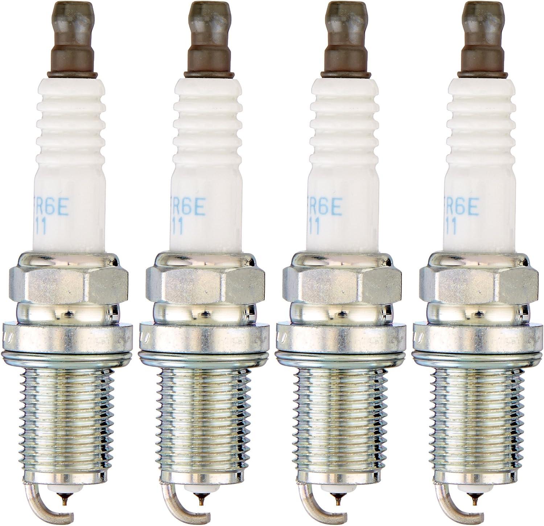 NGK (6741) IFR6E11 Spark Plug - Pack of 4