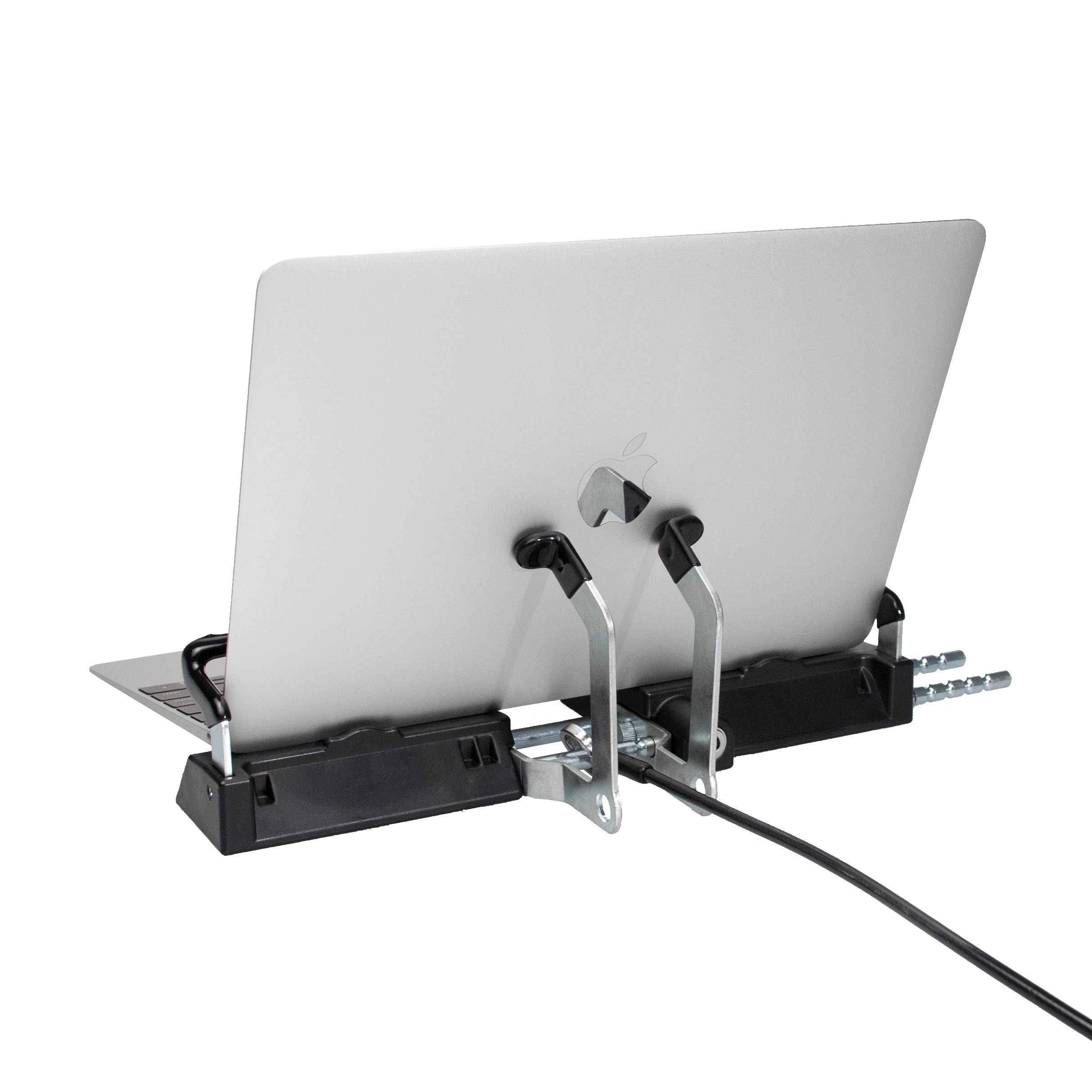 CTA Digital Heavy Duty Tri-Security Station for Tablet-Laptop Hybrids - PAD-SSLT