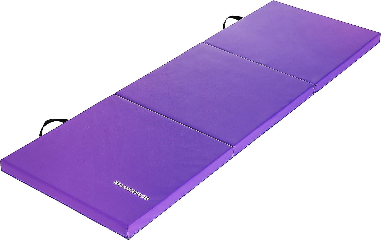 BalanceFrom Tri-Fold Folding Exercise Mat Amazon's Choice