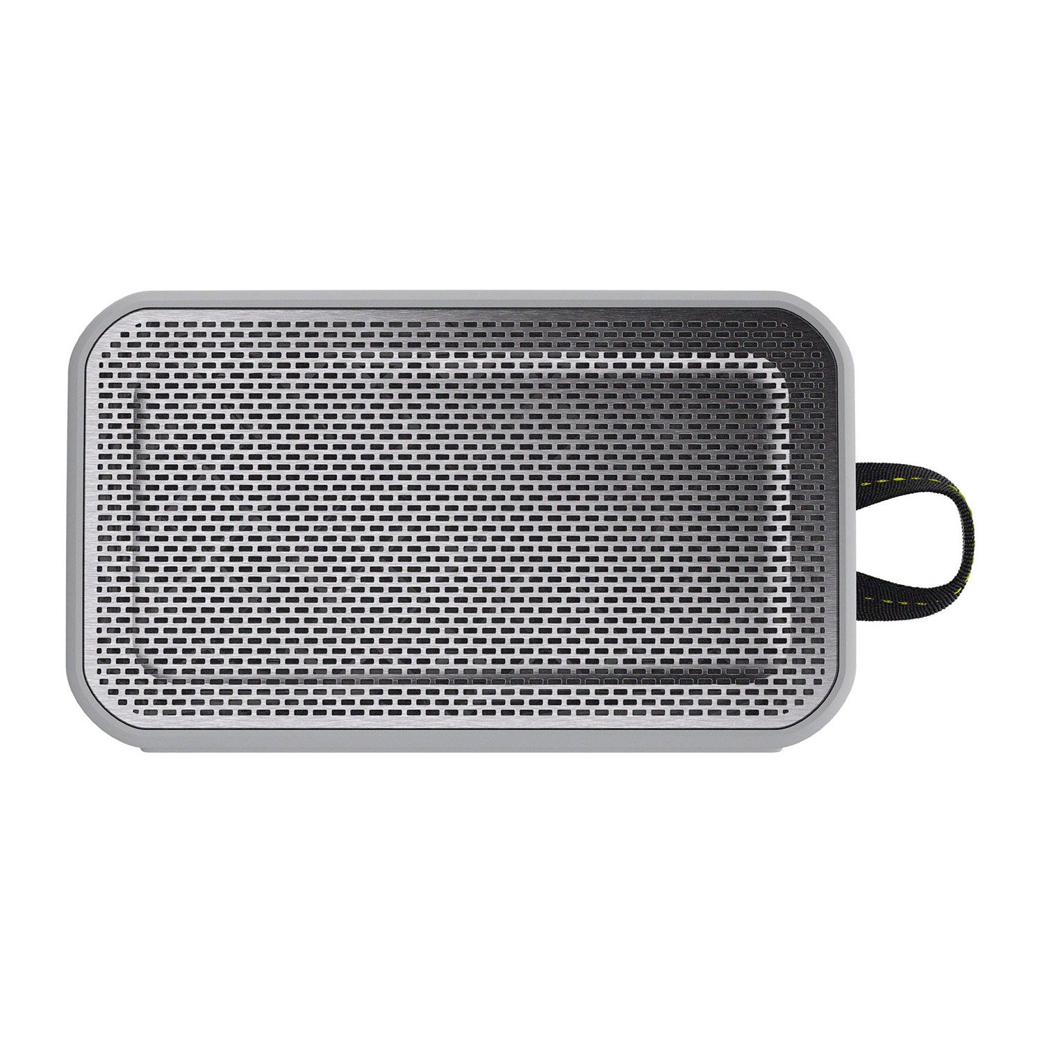 Skullcandy Barricade XL Bluetooth Wireless Portable Speaker, Waterproof and Buoyant, Impact Resistant, 10-Hour Battery Life and 33 Foot Wireless Range, Gray/Hot Lime by Skullcandy