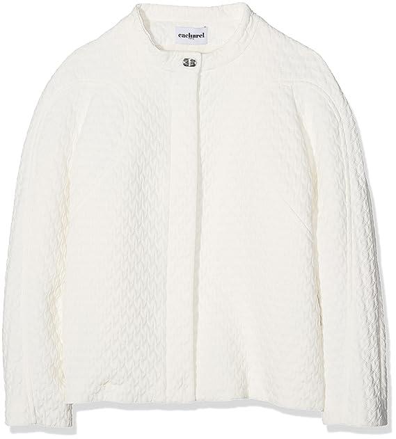 Cacharel Short Zipped Jacket, Chaqueta para Mujer, Blanco (Coco 010 ...