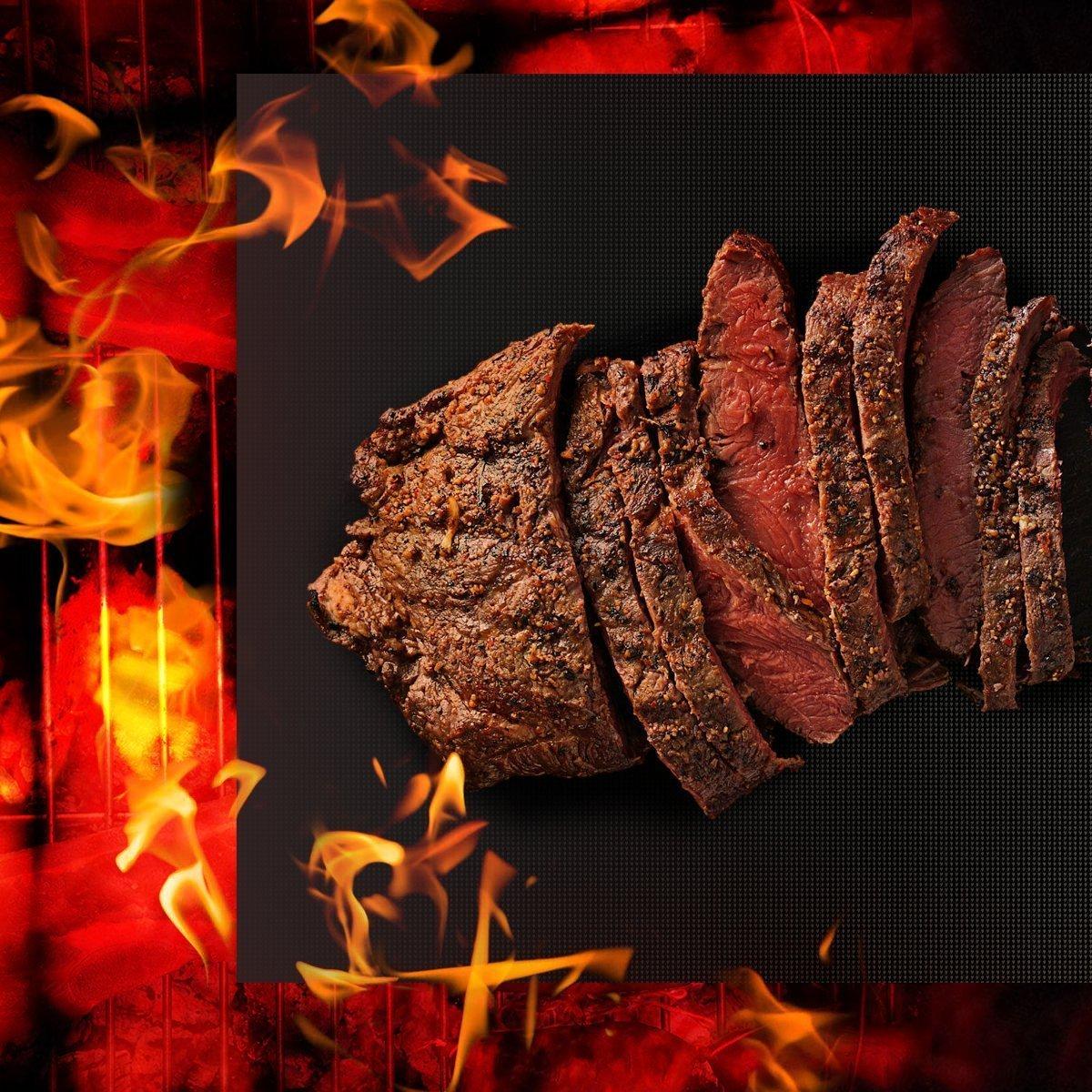 Juego de 6 placas para barbacoa, de horno, teflón antiadherente, cocina – reutilizable, resistente, resistente al calor, fácil de limpiar, placas ...
