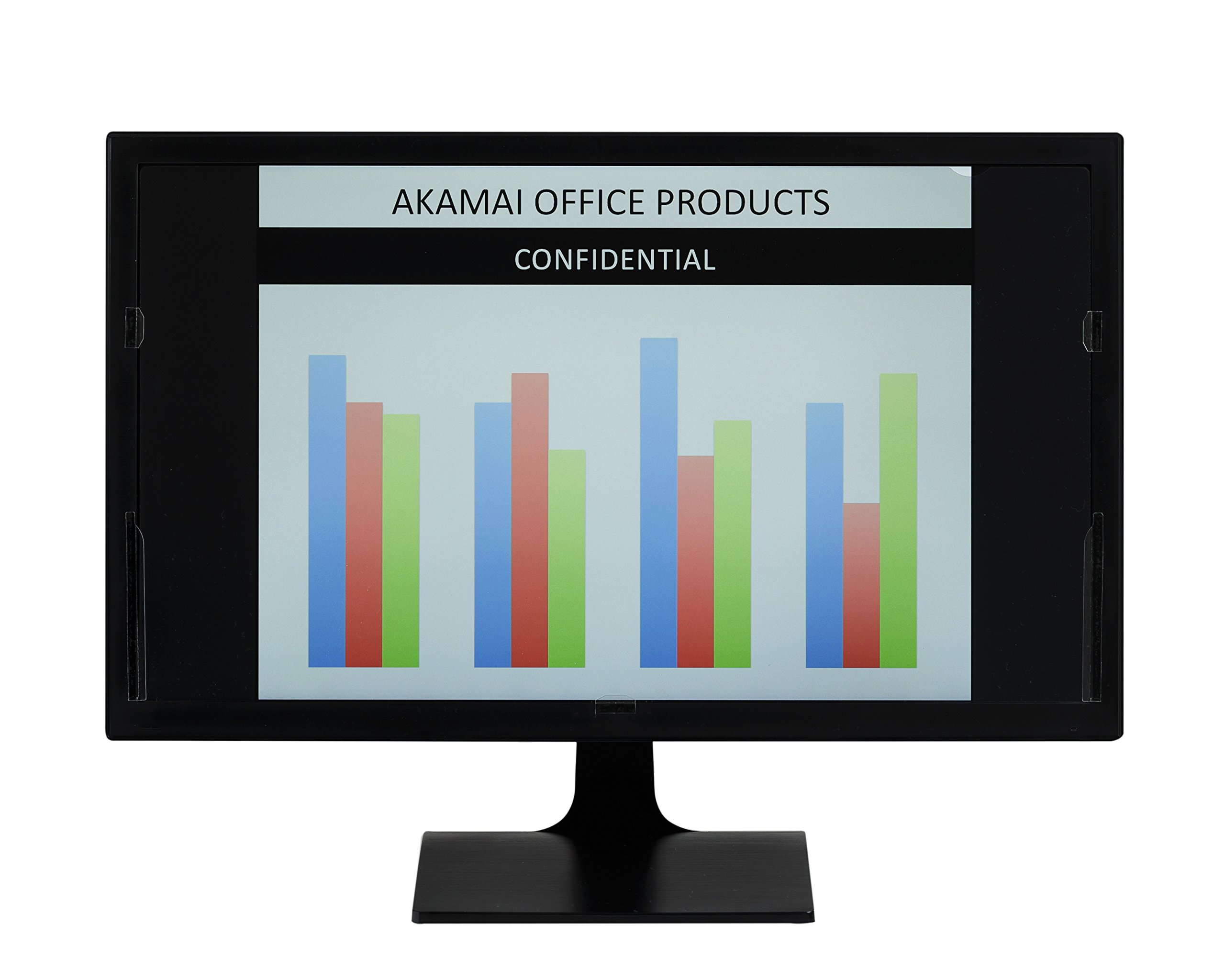 Akamai Office Products 21.5 inch (Diagonally Measured) Privacy Screen Filter for Widescreen Computer Monitors & Latest 21.5 inch iMac Retina 4K Anti-Glare - Please Measure Carefully! by Akamai Office Products (Image #3)