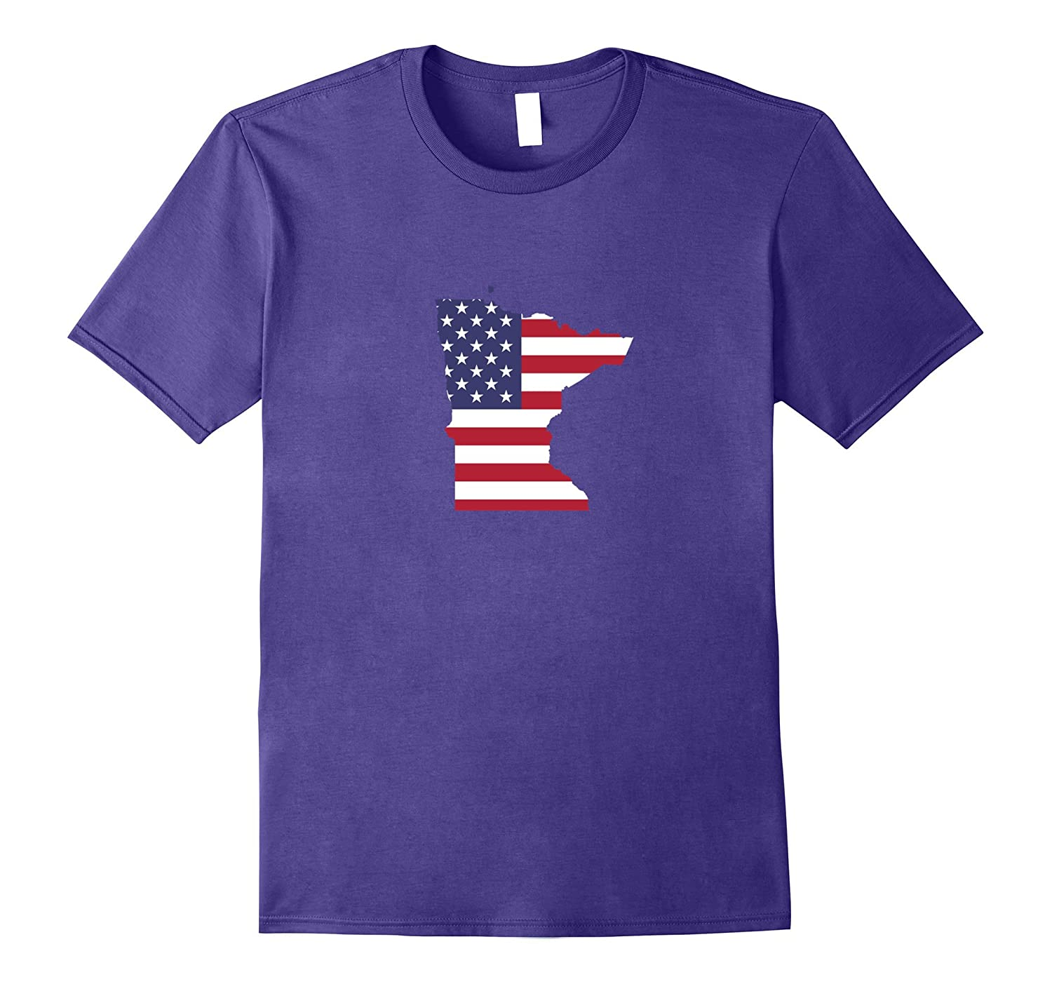 4th Of July Minnesota State American Flag Party T-Shirt