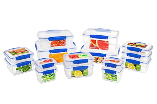Sistema Klip It - Pack de 15 Unidades, Polipropileno, Transparente ...