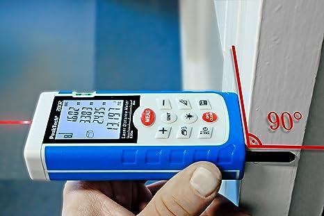 Peaktech profi laser entfernungsmessgerät m u m mit