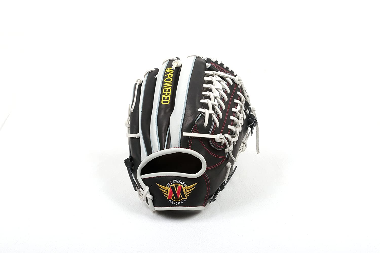 Mpowered野球Modified Trapeze野球グローブ B071VLCY4K ブラック/ホワイト B071VLCY4K Trapeze野球グローブ ブラック/ホワイト, ワッペン屋さんラボ:11053d77 --- acordhe.com.br