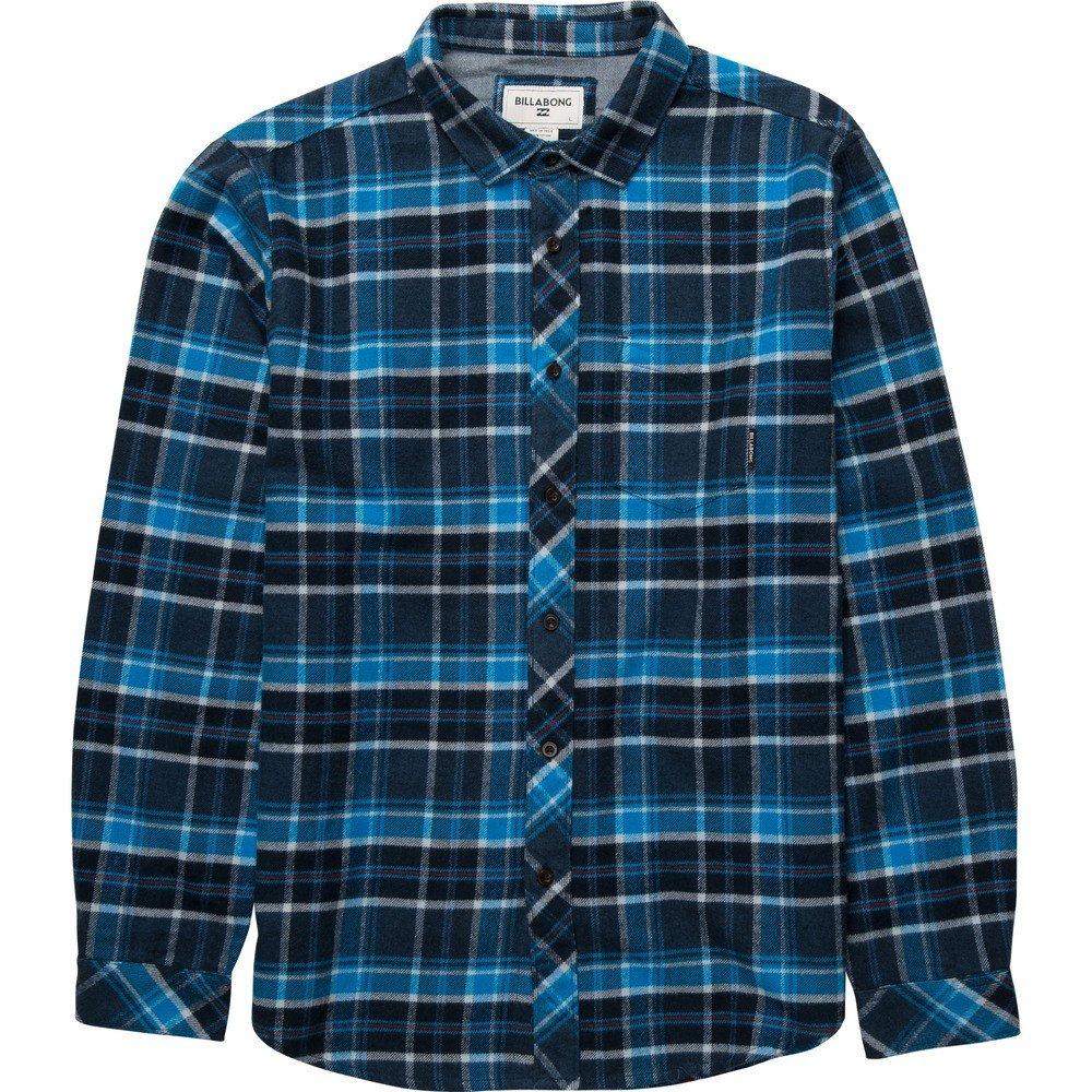 BILLABONG 2016 Henderson Long Sleeve Shirt Indigo Z1SH07