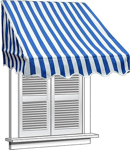 Aleko 8″ X 2″ Window Awning Door Canopy 8-Foot Decorator Awning