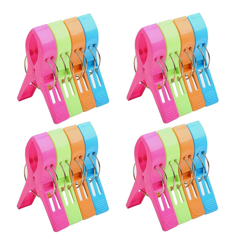BAOEF - Clips de plástico para Toalla de Playa, Clip de ...