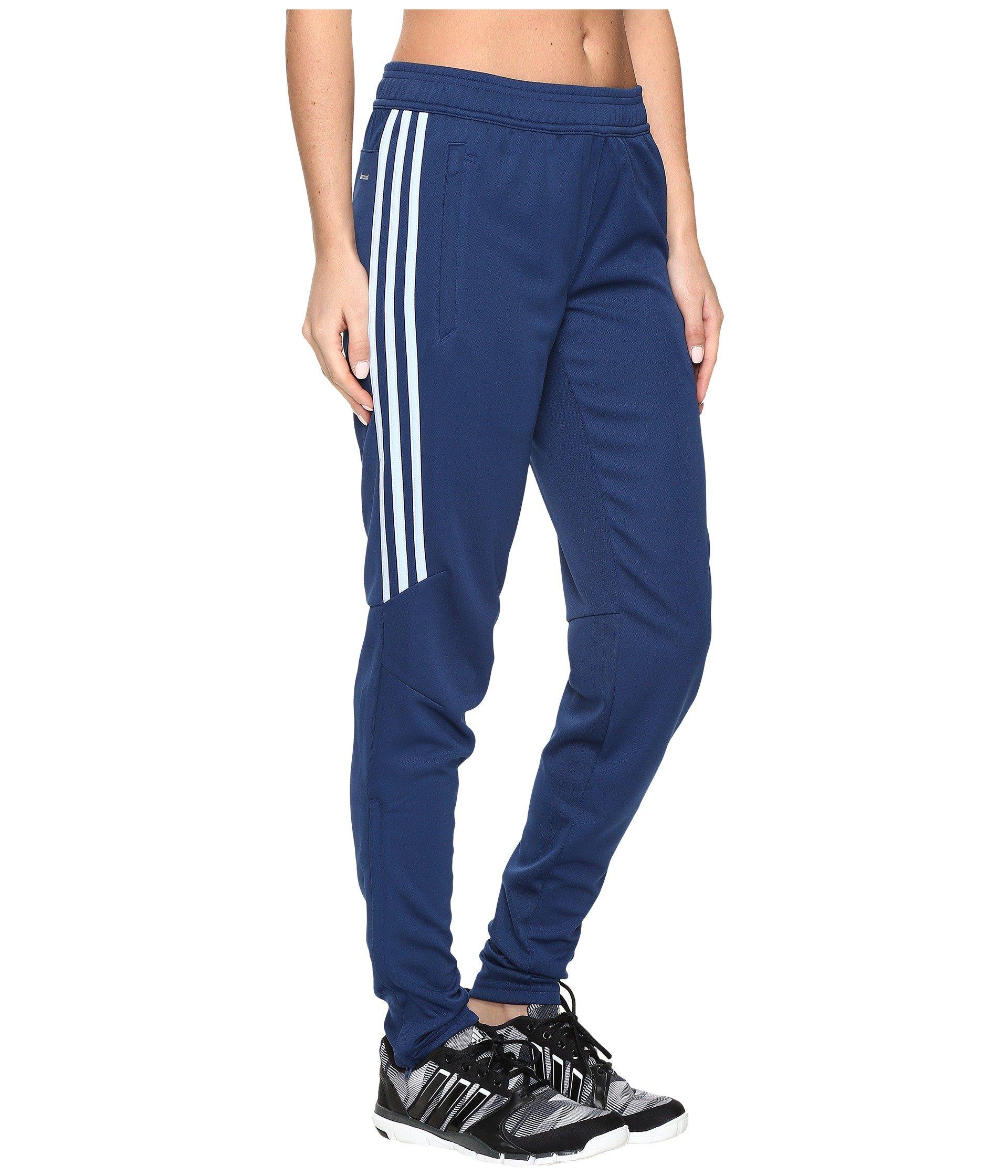 adidas Women's Soccer Tiro 17 Training Pants, Mystery Blue/Easy Blue, X-Large by adidas