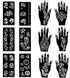 COKOHAPPY Stencils for Henna Tattoos