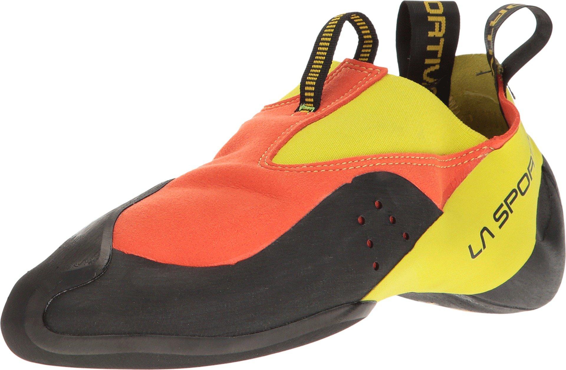 La Sportiva MAVERINK Climbing Shoe, Flame/Sulphur, 40.5 by La Sportiva