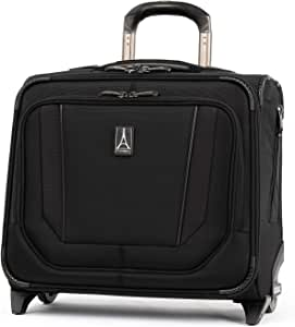 Travelpro Crew Versapack-Rolling Travel Tote Bag, Jet Black, One Size