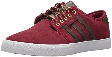 adidas Originals Men's Seeley, Collegiate Burgundy/Brown/White, ...